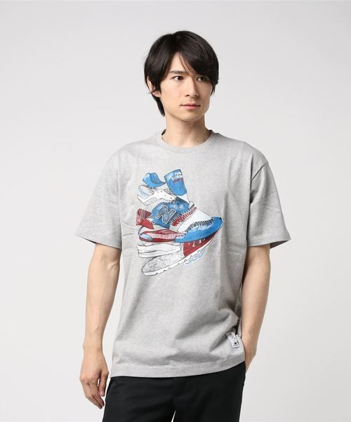Тениска New Balance Coming Apart Tee