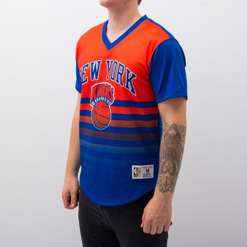 Type Shirts Mitchell & Ness NBA New York Knicks Game Winning Shot Mesh V-Neck T-Shirt