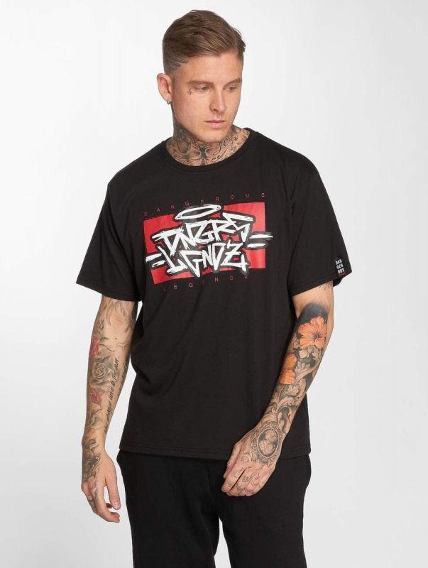 Мъжка тениска Dangerous DNGRS / T-Shirt LGNDZ in black