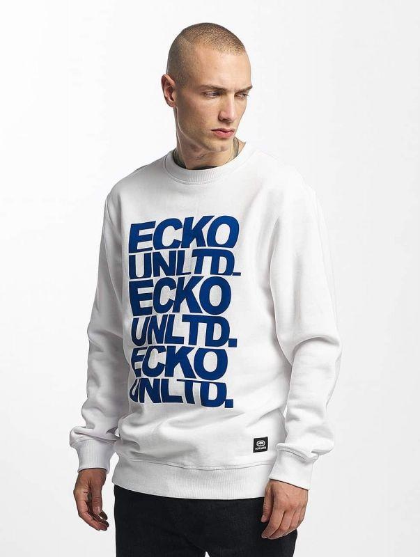 Ecko Unltd. / Jumper Fuerteventura in white