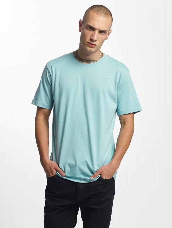 Cyprime / T-Shirt Titanium in turquoise