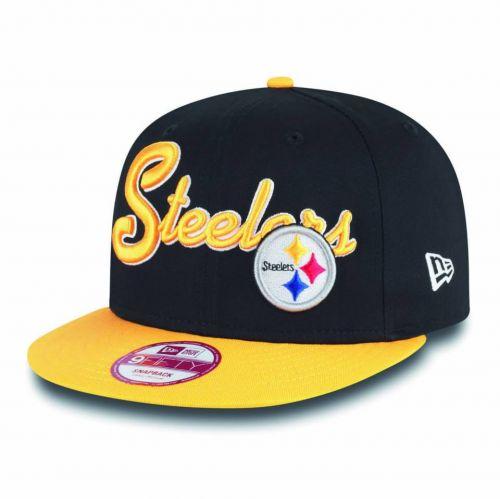 New Era Super Script Pittsburgh Steelers 9FIFTY Snapback