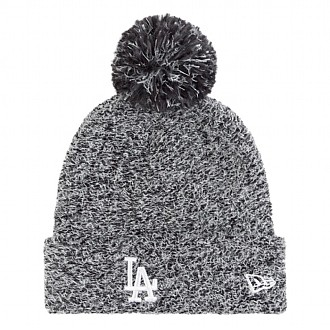 Зимна шапка New Era Womens Fleck Bobble LA Dodgers
