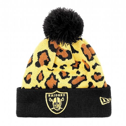 Зимна шапка New Era Team Leopard Oakland Raiders