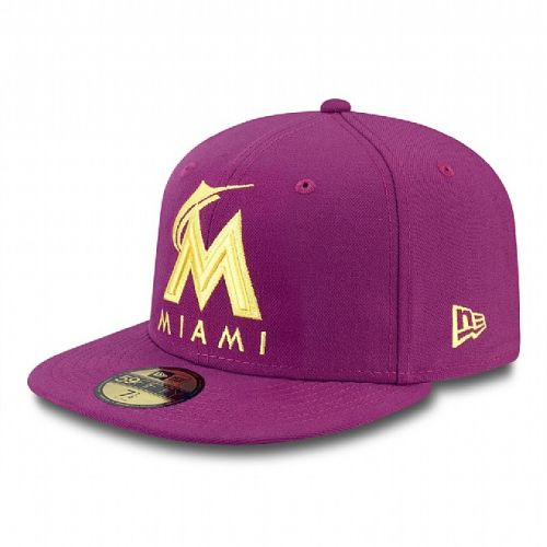 Шапка New Era 59Fifty Seasonal Contrast Miami Marlins