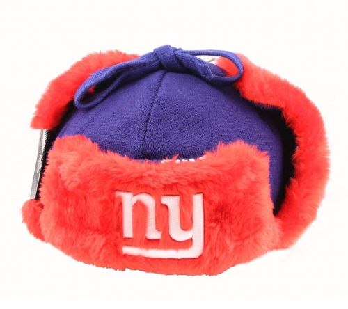 Зимна шапка New Era Snowflake Trapper NY Giants