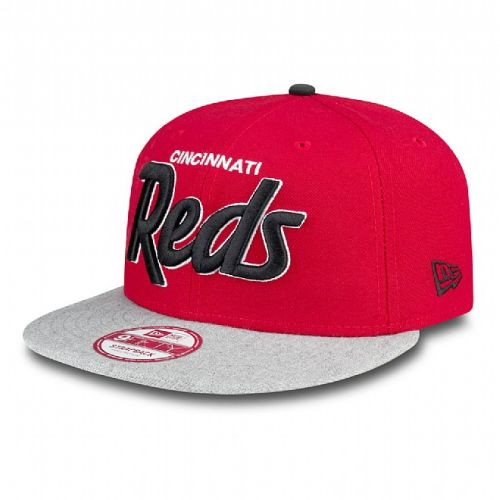 Шапка New Era Script Heather Cincinnati Reds 9FIFTY Snapback