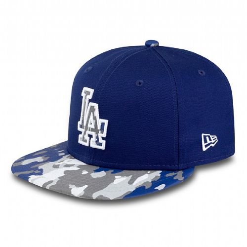 Шапка New Era Camo Break LA Dodgers 9FIFTY Snapback