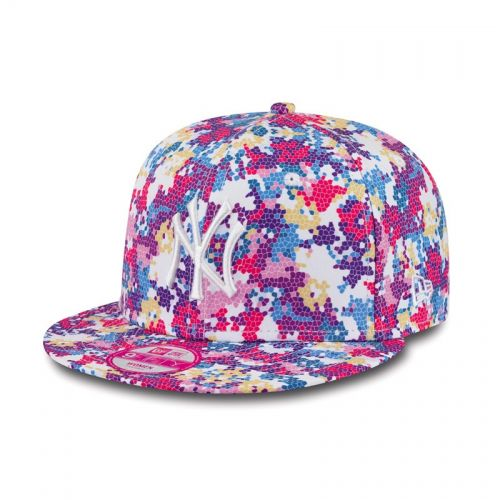Шапка New Era Digi Fleur NY Yankees Womens 9FIFTY Snapback