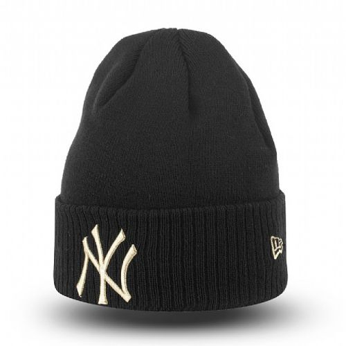 Зимна шапка New Era Metallic Knit New York Yankees