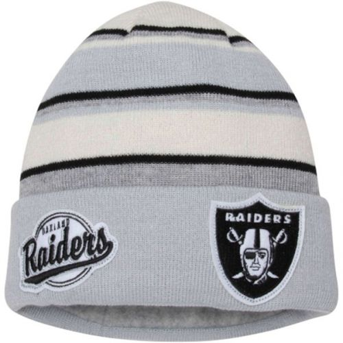 Зимна шапка New Era Winter Tradition Oakland Raiders