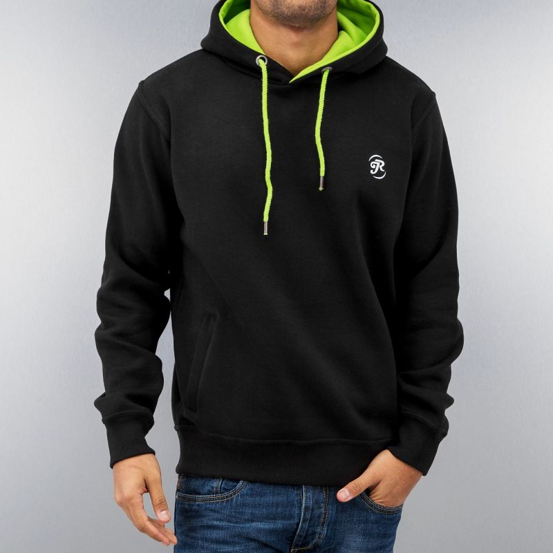 Just Rhyse Time Hoody Black/Green