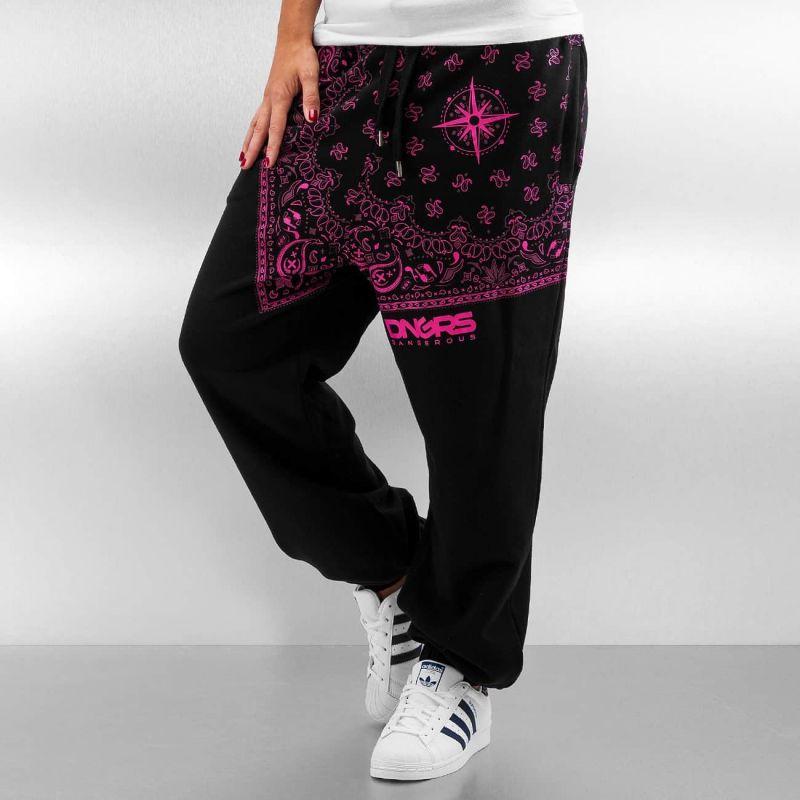 Dangerous DNGRS Sweatpants Black/Pink