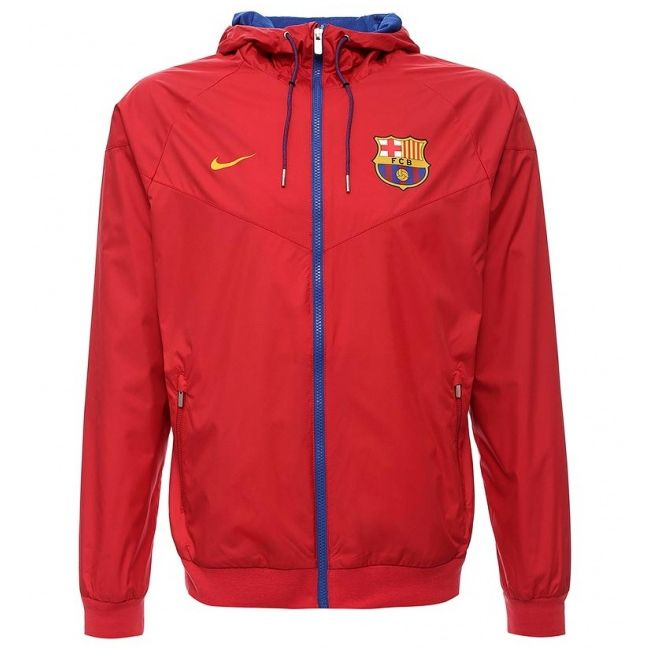 Acelerar atractivo junto a  Type Jackets Nike FC Barcelona NSW WVN Authentic Windrunner Jacket
