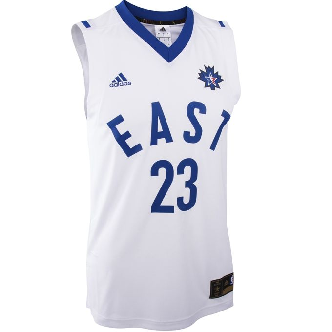 online store d31d3 af065 Type Shirts adidas NBA All-Star 2016 LeBron James Replica Jersey