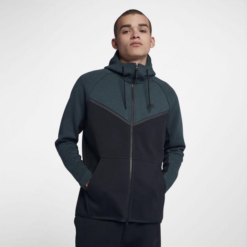 fb61c891 Type Hoodies Nike Sportswear Tech Fleece Windrunner Full Zip Hoodie