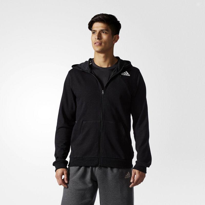 Суичър adidas Cross-Up Full Zip Hoodie Jacket