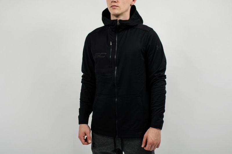 Суичър Under Armour SC30 Warm Up Full Zip Hoodie Jacket