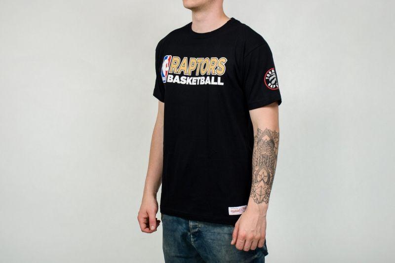Тениска Mitchell & Ness NBA Toronto Raptors Team Issue Traditional Tee