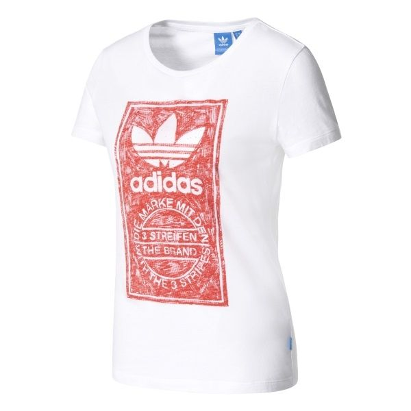 effa3bd6fa3 Тениска adidas Originals WMNS Tongue Tee