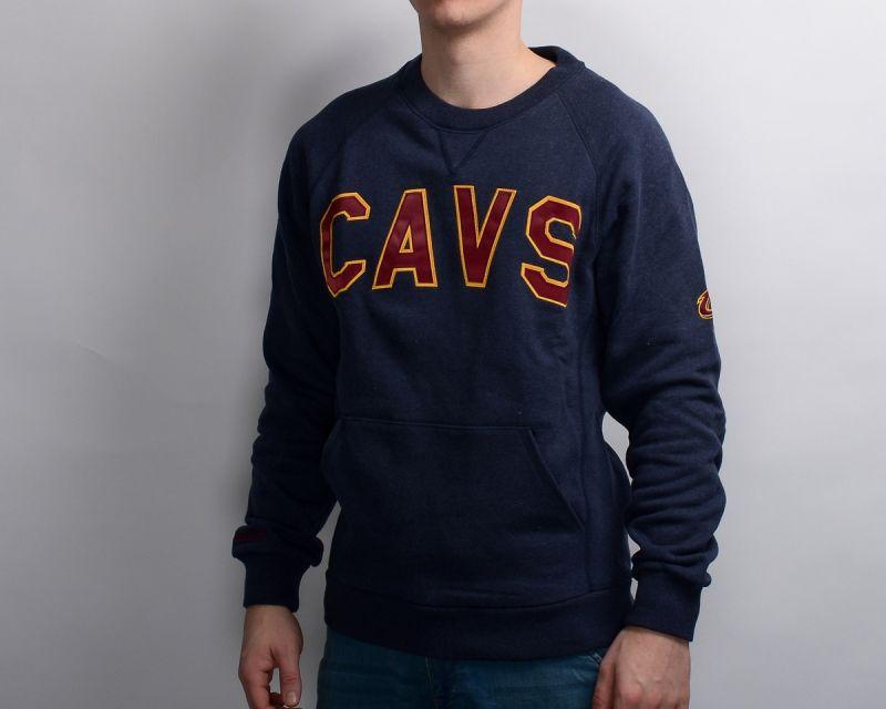 Суичър Mitchell & Ness NBA Cleveland Cavaliers Training Room Crewneck
