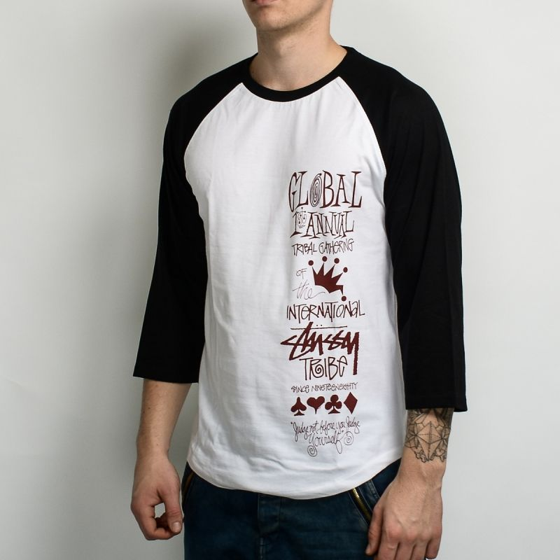 Суичър Stussy Global Gathering Raglan Tee