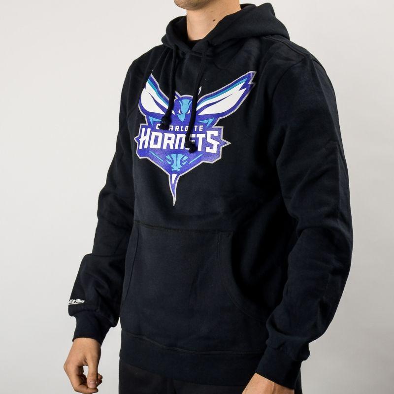 Суичър Mitchell & Ness NBA Charlotte Hornets Team Logo Hoody