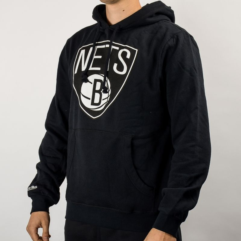 Суичър Mitchell & Ness NBA Brooklyn Nets Team Logo Hoody