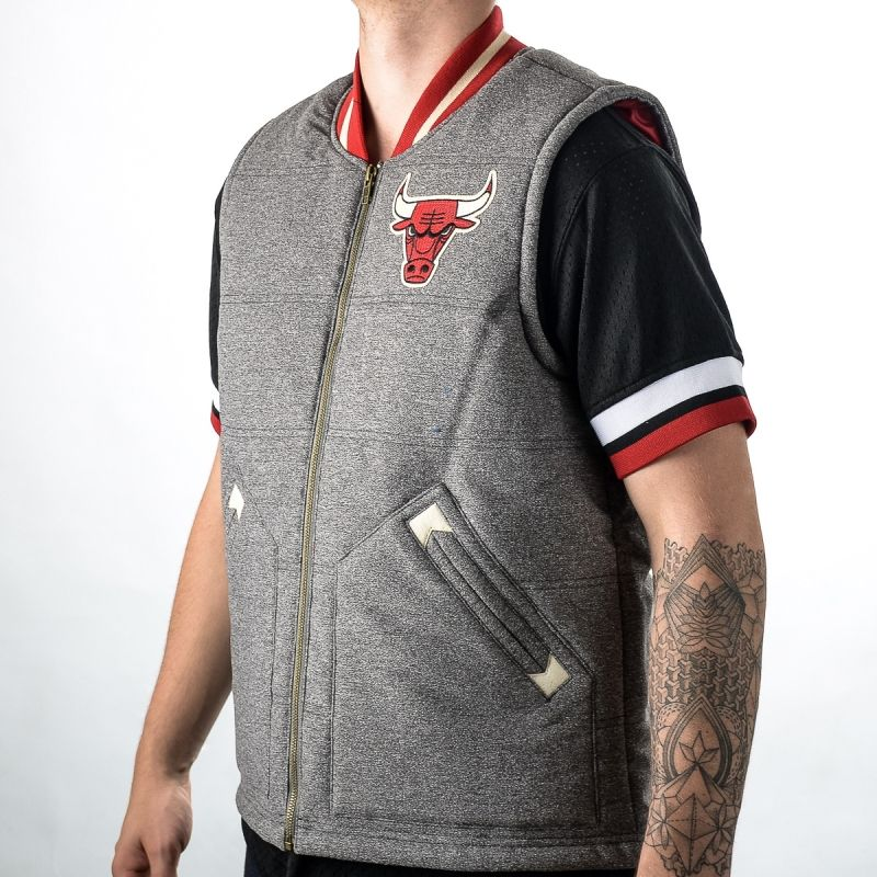 Type Vests Mitchell & Ness NBA Chicago Bulls Margin of Victory Vest