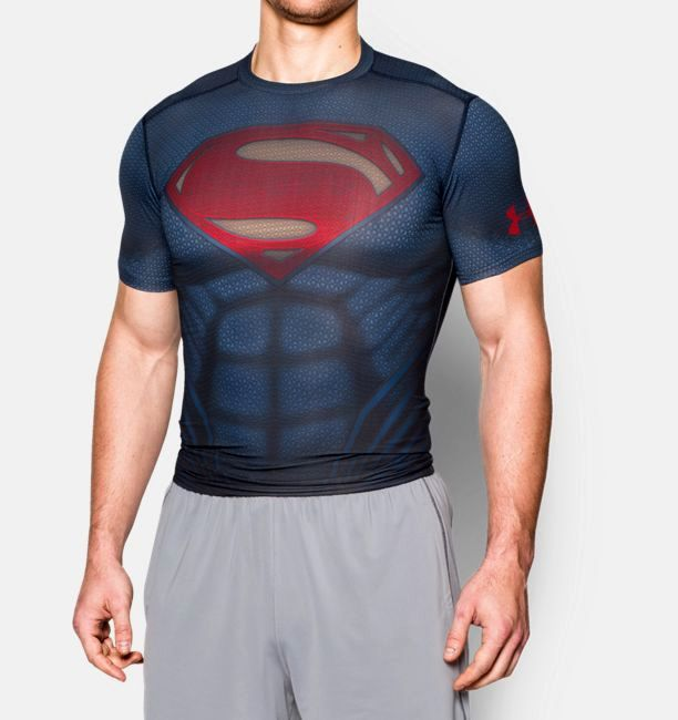 Тениска Under Armour Alter Ego Superman Compression Shirt