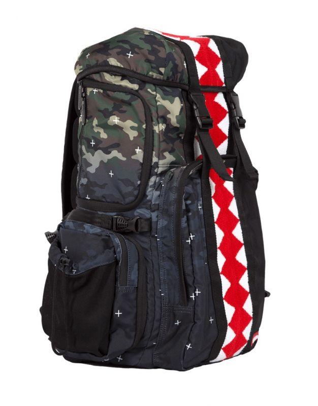 Раница Sprayground Vertical Camo Shark Gradient Backpack