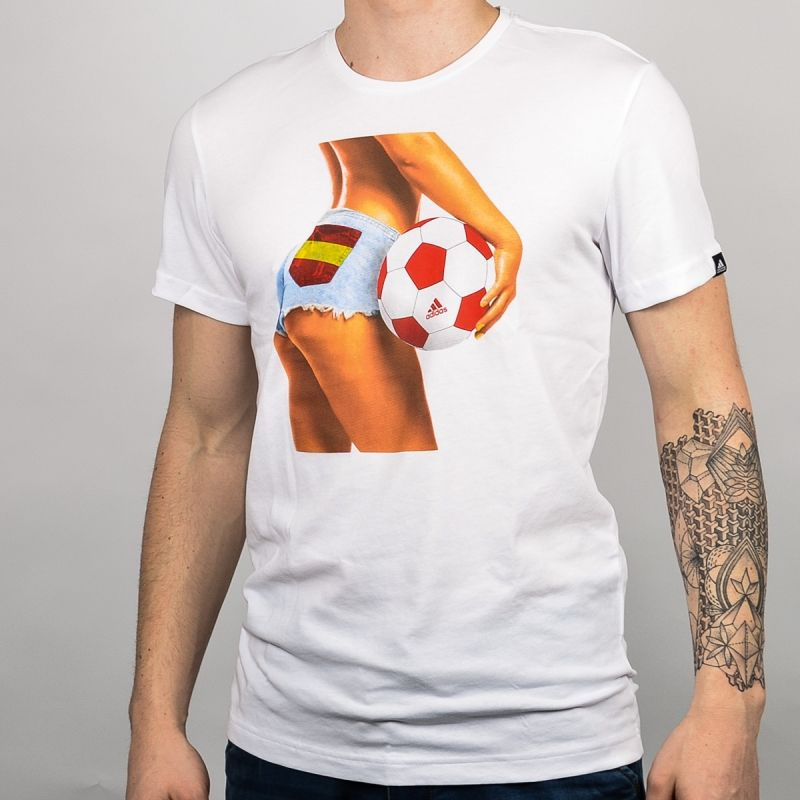 Тениска adidas Spain Summer Fan Tee