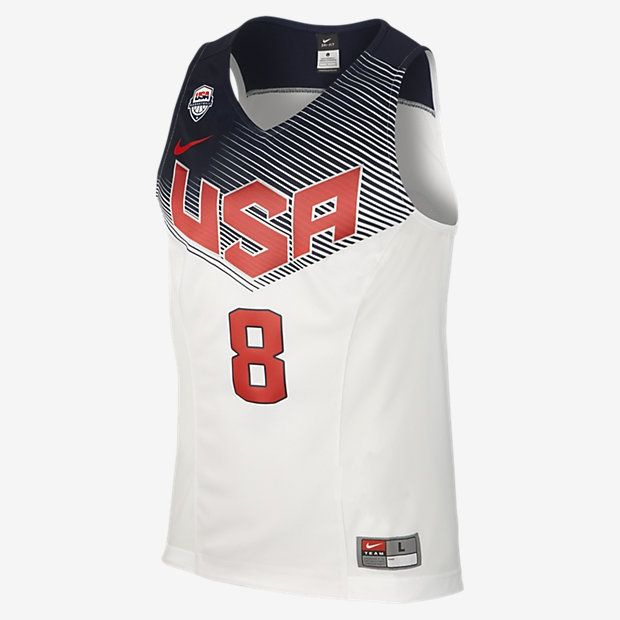 outlet store 6d43e 5f2d8 Type Shirts Nike World Championship USA Paul George Authentic Jersey