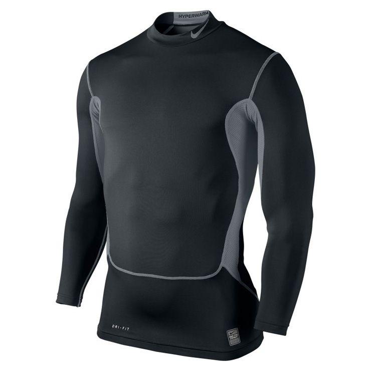 Type Hoodies Nike Pro Hyperwarm Dri-Fit Max Compression Shirt 510243dc09cb