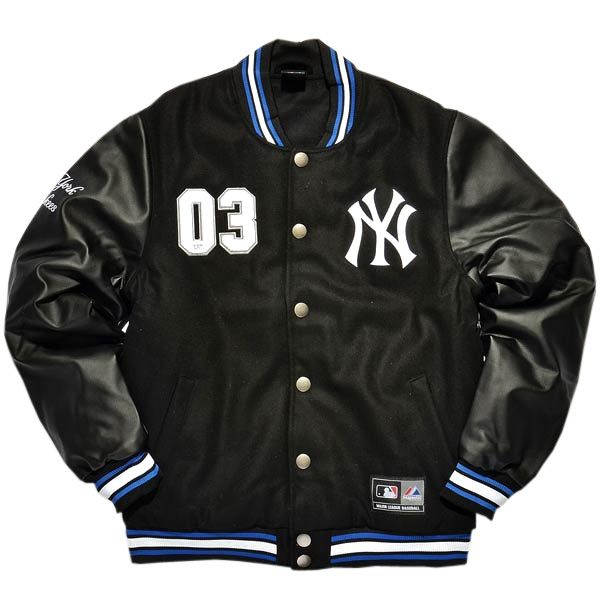 ac0a74384 Type Jackets Majestic MLB New York Yankees Dean Letterman Jacket