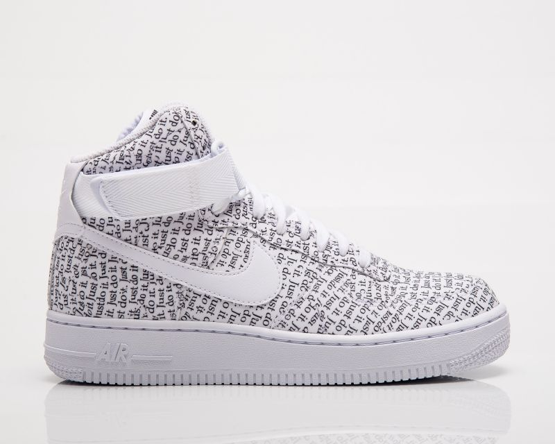 Type Casual Nike Wmns Air Force 1 High LX Just Do It