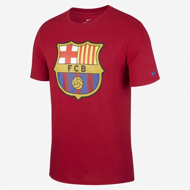 Type Shirts Nike FC Barcelona Crest Tee