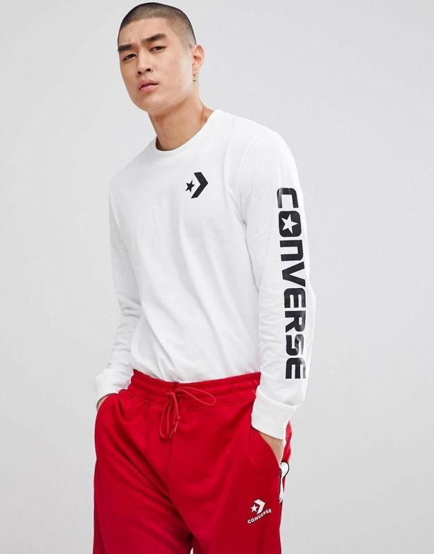 Тениска Converse Star Chevron Long Sleeve