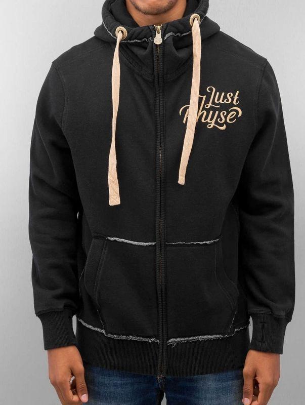 Just Rhyse / Zip Hoodie Big in black