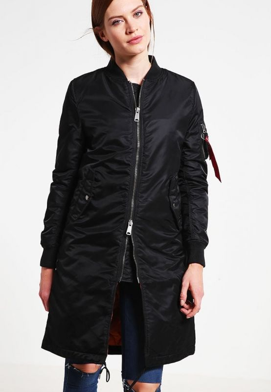 Type Jackets Alpha Industries Wmns MA-1 Coat Rib Jacket
