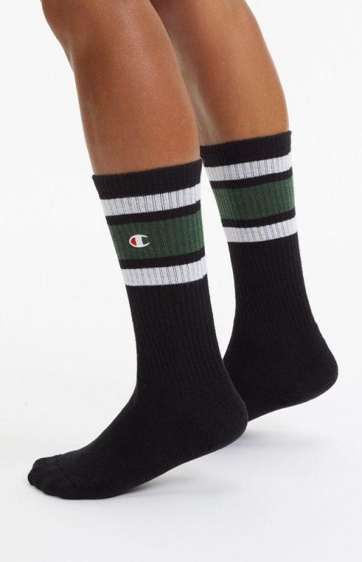 Type Socks Champion Stripe Ribbed Crew Socks