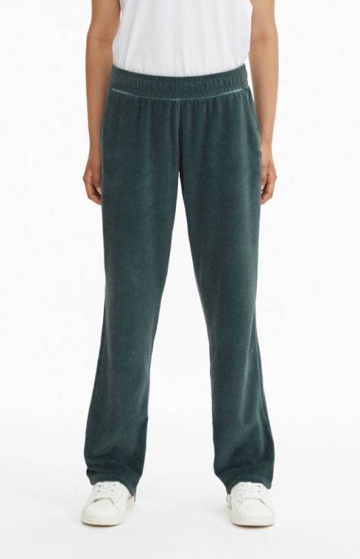 Type Pants Champion Wmns Velour Straight Cut Zipped Joggers