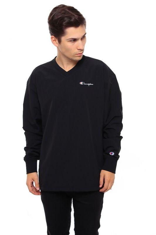 Type Hoodies Champion V Neck Sweatshirt