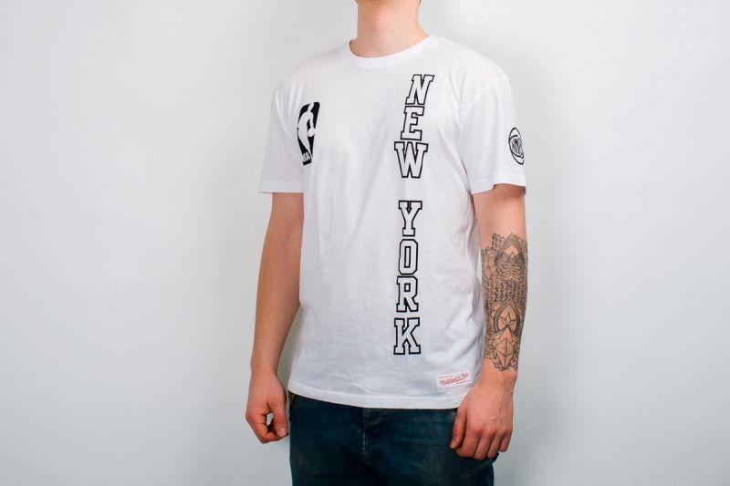 Тениска Mitchell & Ness NBA New York Knicks Downcourt Long Tee