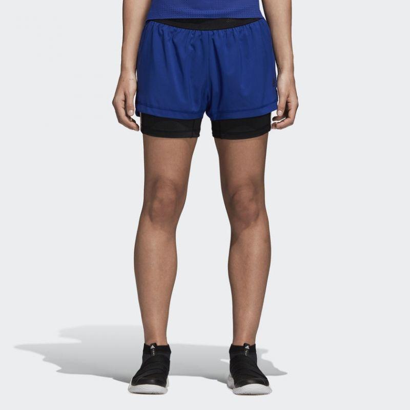 Къси панталони adidas Wmns 3 Stripe 2 In 1 Shorts