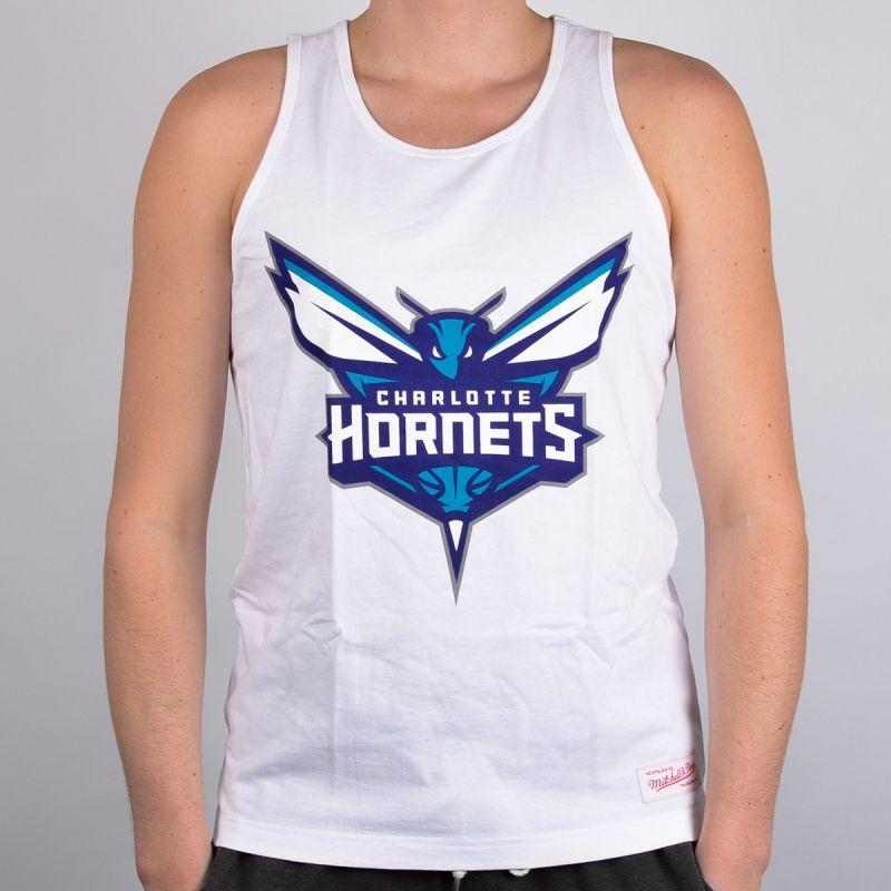 Тениска Mitchell & Ness Charlotte Hornets Team Logo Tank