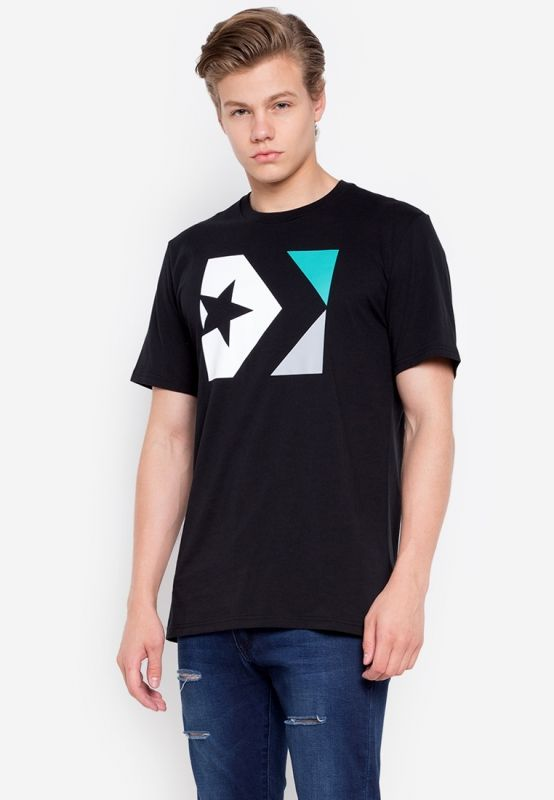 Тениска Converse Star Chevron Tri Color Tee
