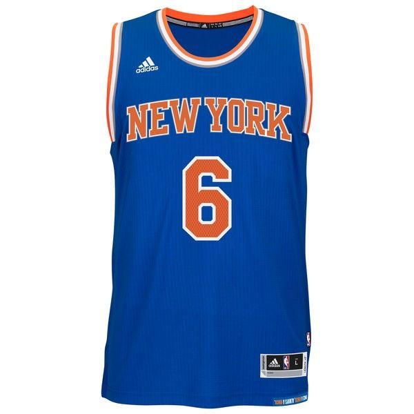 Тениска adidas NBA New York Knicks Kristaps Porzingis Royal Swingman Jersey