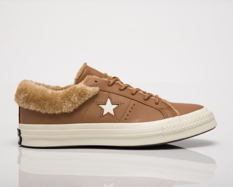 Кецове Converse One Star Street Warmer Leather Low Top