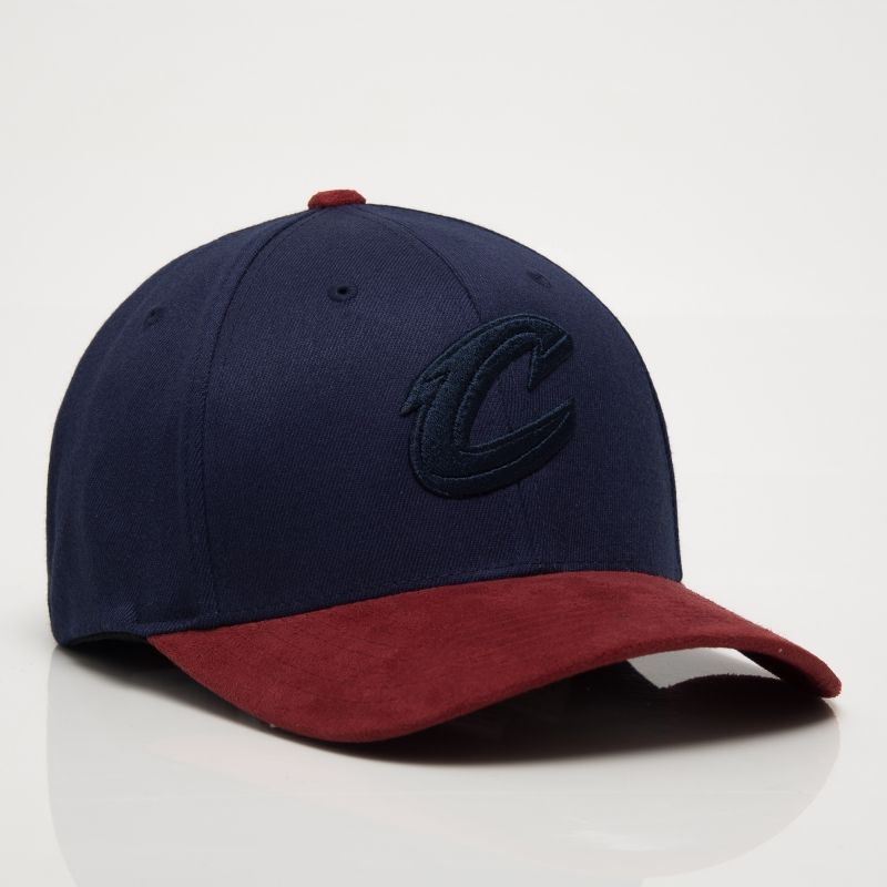 Type Caps Mitchell & Ness NBA Cleveland Cavaliers 3D Suede 110 Snapback Cap